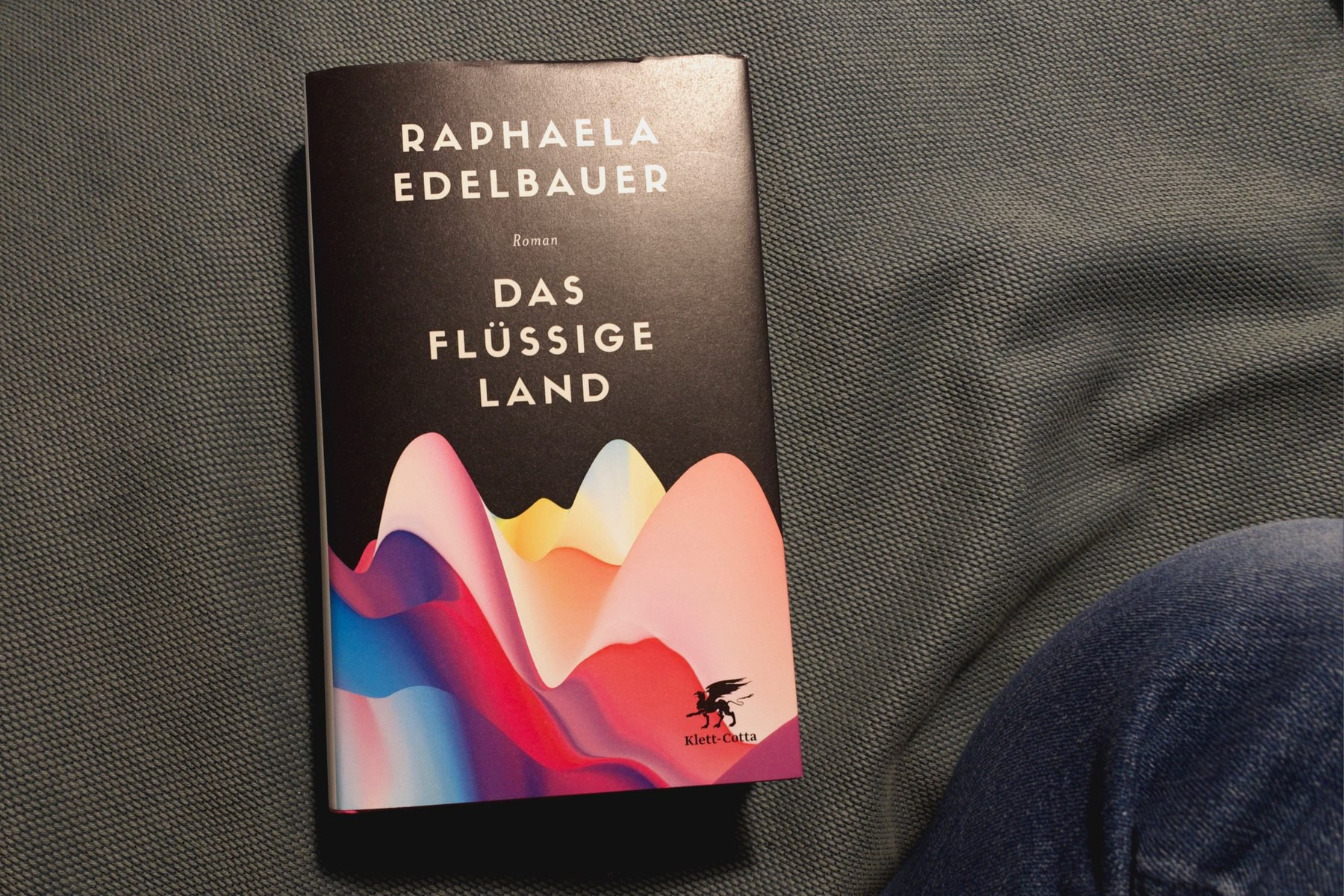 Photo of the cover of Das Flüssige Land